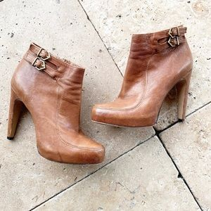 Sam Edelman Brown Ankle Booties size 6